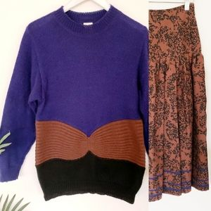 Mondi Vintage 2pc set Sweater and Skirt